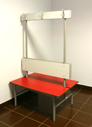 BENCH WITH HANGER, DOUBLE SIDED