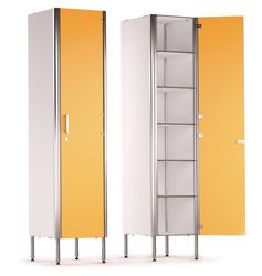SINGLE DOOR 6 COMPARTMENT CABINET