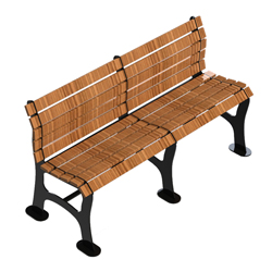 BENCH WITHOUT ARMRESTS