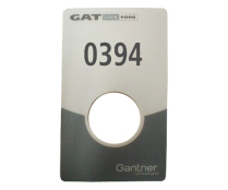 NUMBER PLATE FOR GAT LOCK 6010 F AUTONOMOUS ELECTRONIC LOCK