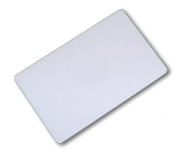 WHITE KEY CARD WITH CHIP