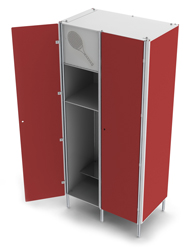 LOCKERS FOR TENNIS PLAYERS
