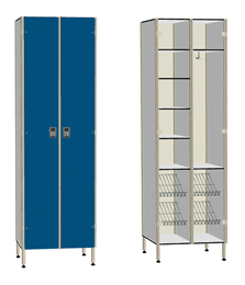DOUBLE DOOR 13 COMPARTMENT WARDROBE