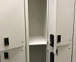 TWO COMPARTMENT MDF LOCKER