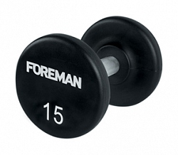 FM/AUD URETHANE ENCASED FIXED DUMBBELLS