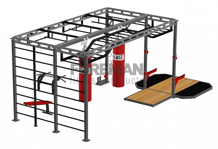 FY-520 MULTI-FUNCTIONAL FRAME WITH PLATFORM