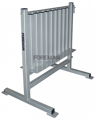 FR-870 AEROBIC DUMBBELL RACK - 40-70 PAIRS