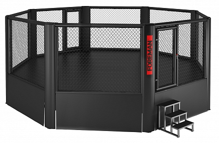 FY-1001 MMA ELEVATED OCTAGON CAGE (30ft)