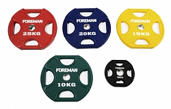 FM/UPX URETHANE ENCASED COLORED X-TRAINING PLATES