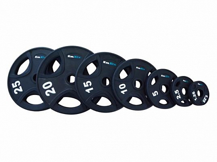 FM/GRP-N INEX RUBBER ENCASED BLACK OLYMPIC PLATES