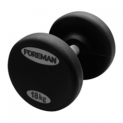 FM/ARD RUBBER ENCASED FIXED DUMBBELLS