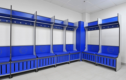 LOCKERS FOR ATHLETES