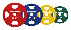 FM/PRR RUBBER ENCASED COLORED OLYMPIC PLATES
