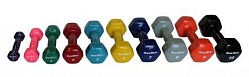 IN-VD AEROBIC DUMBBELLS IN VINYL COVERAGE